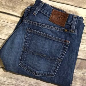 Lucky Brand Jeans 181 Relaxed Straight 32 x 32